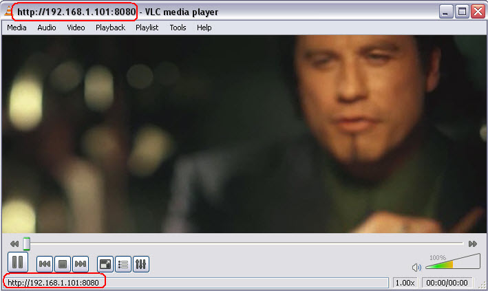 vlc-stream-playing