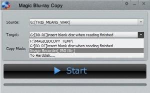 magic blu ray copy