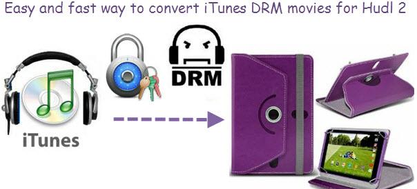 convert iTunes to Hudl 2